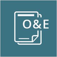 o and e icon