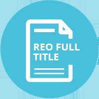 DataTrace REO Full Title Report