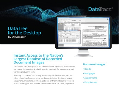 DataTree for the Desktop by DataTrace