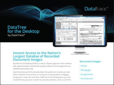 DataTree for the Desktop by DataTrace