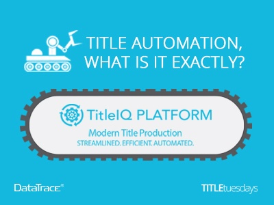 TITLE AUTOMATION, WHAT IS IT EXACTLY?